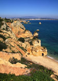 Algarve Lagos Royalty Free Stock Photos