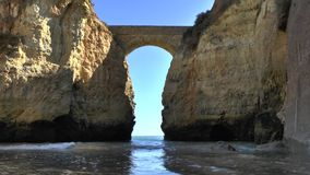 Algarve in Lagos Portugal stock videobeelden