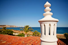 Algarve lampglas Arkivbilder