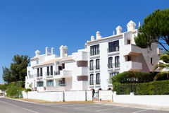 Algarve-Landhaus lizenzfreie stockfotografie