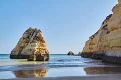 Algarve at Portimao Royalty Free Stock Photography