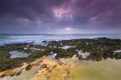 Algarve, Portugal. Galé beach in Algarve, Portugal royalty free stock photo