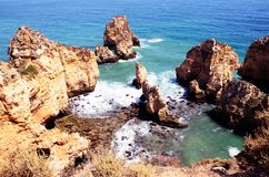 Algarve, Portugal 2016 Images libres de droits