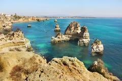 Algarve, Portugal. Algarve Coast and Beach, Tourist destination. Lagos Portugal stock image