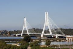 Algarve, Portugal - le câble est resté le pont Photos libres de droits