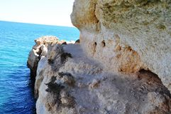 Algarve Portugal. The most beautiful place in Portugal Royalty Free Stock Photos