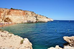 Algarve, Portugal. The most beautiful place in Portugal Royalty Free Stock Image