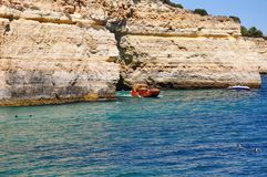 Algarve, Portugal. The most beautiful place in Portugal Stock Photo