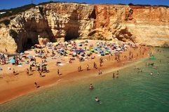 Algarve, Portugal. The most beautiful place in Portugal Royalty Free Stock Images