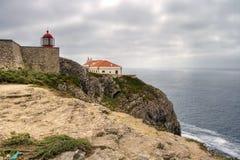 algarve przylądka Portugal st vincent Zdjęcia Stock