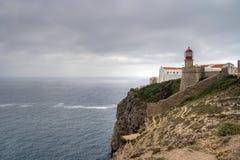 algarve przylądka Portugal st vincent Obrazy Stock