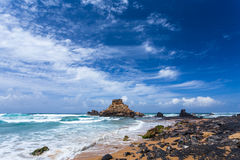 Algarve region beach, Portugal Royalty Free Stock Photos