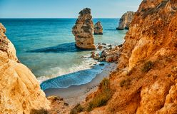 Algarve region in Portugal stock images