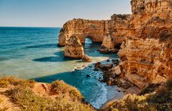 Algarve region in Portugal stock image