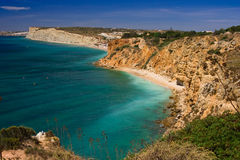 Algarve rock Royalty Free Stock Images