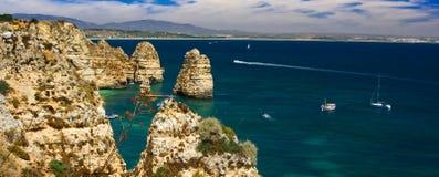 Algarve rock Royalty Free Stock Photo