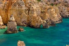 Algarve rocks Royalty Free Stock Image