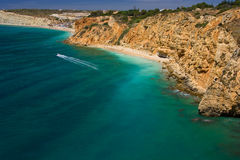 Algarve rocks Stock Photography