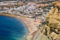 Algarve rots Royalty-vrije Stock Foto