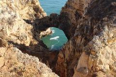 Algarve sławny region w Portugalia fotografia royalty free