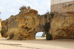 Algarve sławny region w Portugalia obrazy stock