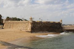 Algarve sławny region w Portugalia obraz royalty free