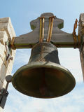 Algarve's bell. Bell of the Faro's cathedral, Algarve stock image