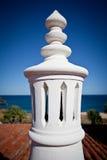 Algarve schoorsteen stock foto's