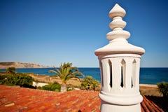 Algarve schoorsteen Stock Afbeeldingen