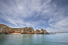 Algarve sky Royalty Free Stock Images