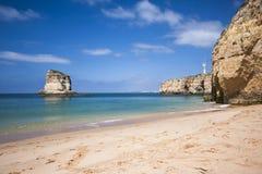 Algarve-Strand Lizenzfreies Stockfoto
