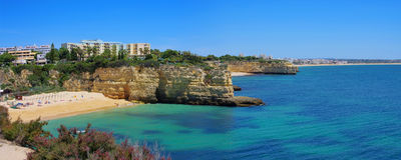 Algarve strand Royaltyfri Bild