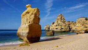 Algarve-Strand marinha stock footage