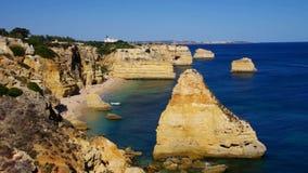 Algarve-Strand marinha stock video footage
