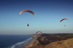 algarve strandkust portugal Royaltyfri Bild