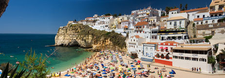 Algarve, Teil von Portugal stockbild