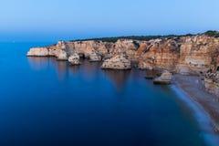 Algarve typical landscape stock images