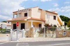 Algarve villa Royaltyfri Fotografi