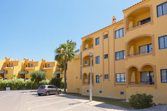 Algarve Villa's stock afbeeldingen