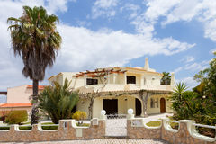 Algarve villa Stock Photography