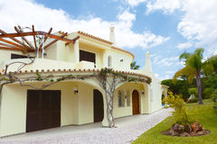 Algarve willa obrazy royalty free