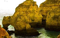 Algarve wybrzeże Fotografia Royalty Free