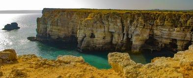 Algarve wybrzeże Obraz Stock