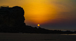 Algarve wybrzeże Obrazy Stock