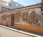 Algarvian House Dilapidated Stock Photo