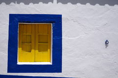 Algarvian window Royalty Free Stock Images