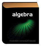Algebra book Royalty Free Stock Images