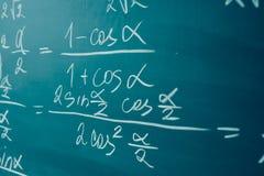 Algebra en analysebegin Trigonometrie en elementaire functies royalty-vrije stock afbeeldingen