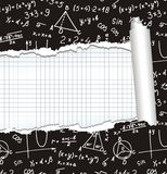 Algebra. Geometry. Abstract background. Royalty Free Stock Photos