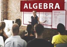 Algebra Mathematics Calculation Chart Concept Royalty Free Stock Images